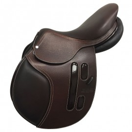Selle semi creuse - Choco